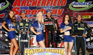 Clauson Stays Hot Down Under … Claims Archerfield Midget Showdown