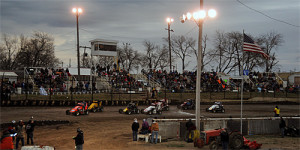 POWRi Midgets at Port City Headline Weekend