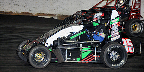 Sherrell Takes POWRi West Honors at Outlaw