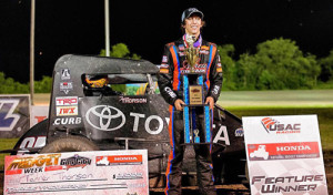 Thorson Takes First USAC Win in Midget Week Opener!