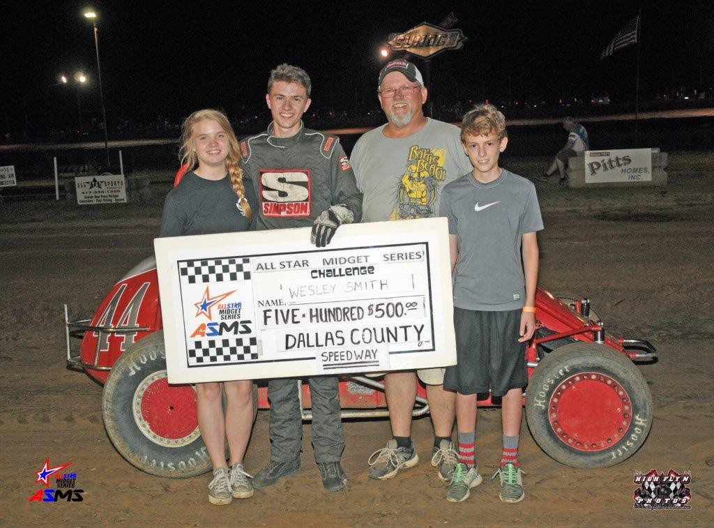 Smith Takes First ASMS Win