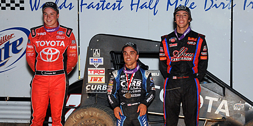 Abreu Opens Belleville Midget Nationals Title Defense in Victory Lane