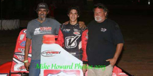 Hernandez Captures First Win in POWRi West Go at Lawton
