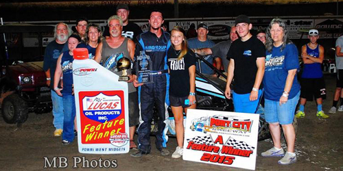 POWRi West Introduces Another New Winner – Hulsey Takes the Port
