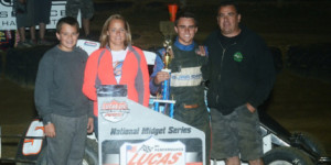Peck Pockets First POWRi Win