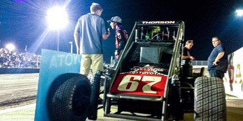 Thorson Dominates Gold Crown Opener
