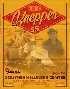 USAC Back Indoors with Junior Knepper 55 on Saturday