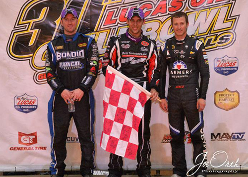 Clauson Conquers Friday Chili Bowl Qualifier