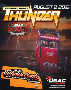 Nebraska's Jefferson County Speedway Added to USAC Slate