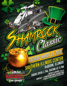 Nearly 60 Entered for Saturday's Shamrock Classic!