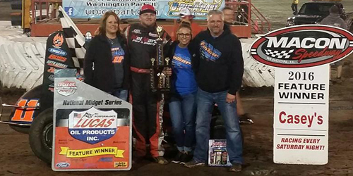 Felker Flies to Macon Win