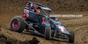 J.D. Black Bests All Star Midgets at Valley