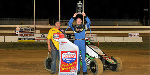 Sherrell Shines in POWRi West Go at Outlaw Motor Speedway