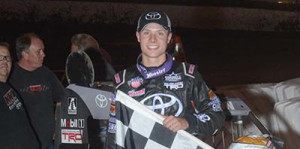 Bayston Topples POWRi for First Win with Kunz