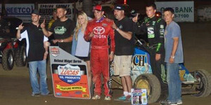 Austin Brown Best in POWRi Midget Week Round Two