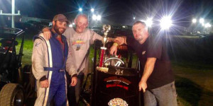 Lamb Lands First All Star Midget Win
