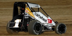 Larson Opens Indiana Midget Week with Montpelier Victory