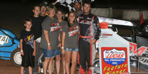 Shebester Finishes off Sweep of POWRi West Weekend