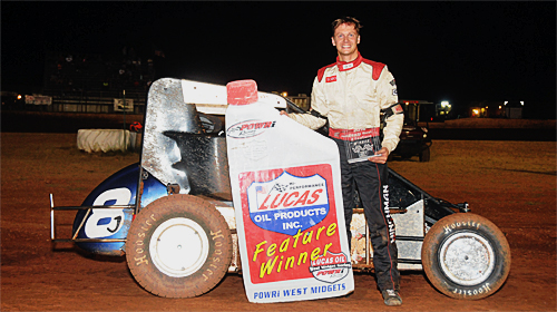 Beason Best in POWRi West Summer Showdown Opener