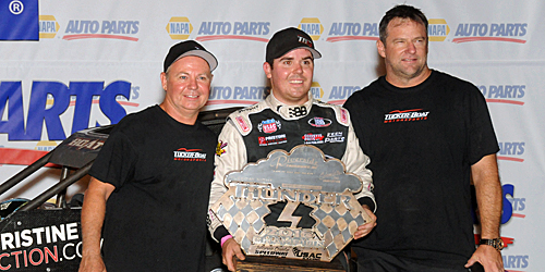 Boat Sails to Tuesday Night Thunder Victory Lane