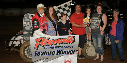 Streeter Streaks to Placerville Victory Lane