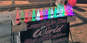 Light Up the World Beverages to Sponsor USAC Western States Midgets