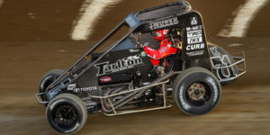 Indiana Midgets at Gas City on Friday