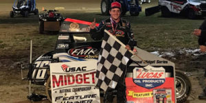 Bacon Sizzles in Jason Leffler Memorial