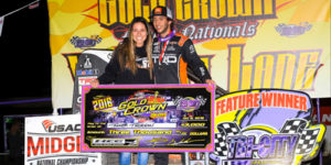Thorson Thrills in Gold Crown Opener