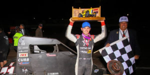 Larson Carves Up Second Turkey Night Win