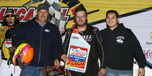 Sewell Sails in Creek Opener