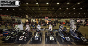 Strong Chili Bowl Showing for Clauson-Marshall Racing