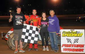 Chris Windom Sprint Car Win Putnamville 060817