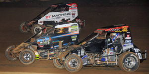 USAC Midgets Set for Illini Triple