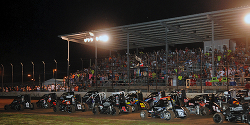 "It's Time for USAC Midgets ""Tuesday Night Thunder"" in Nebraska"