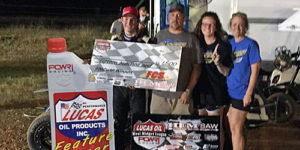 Hendricks Hauls in First POWRi West Win
