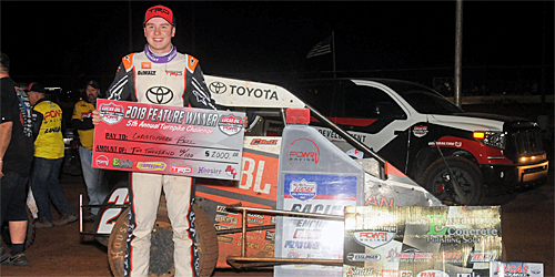 Christopher Bell Right at Home in Turnpike Challenge Opener