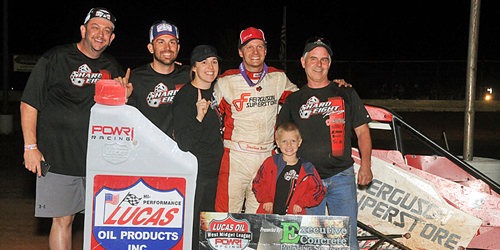 Beason Bests POWRi West Midgets in Oklahoma City