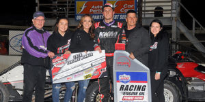 Klaasmeyer Completes the POWRi Weekend Sweep