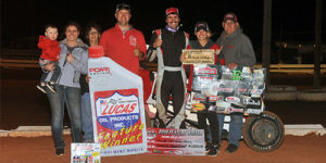 McCarthy Aces POWRi West Midget Meldtown at Red Dirt Raceway