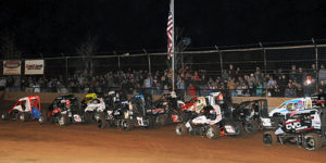 "POWRi West Set for Red Dirt Raceway's ""Midget Meltdown"" on Friday"