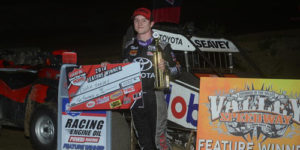 Seavey Snares Opening Leg of Open Wheel Showdown