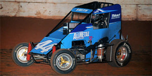 Wesley Smith Scores POWRi West Honors in Midget Roundup Opener
