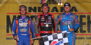 Boat Sails to Midget Week Win at Putnamville