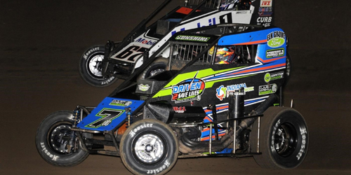 Courtney Leads the Way into Midget Week Finale