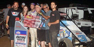 Thorson Makes it Two in a Row in Illinois Midget Week