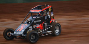 Bacon Prepped for USAC Mid-America Midget Week