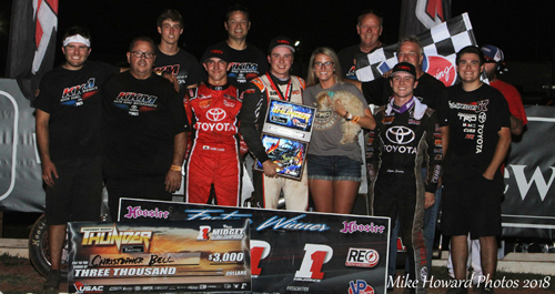 Bell Stays Perfect on Home State Soil with Tuesday Night Thunder USAC Score