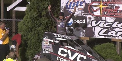 Carrick Captures Pepsi Nationals Crown