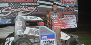 Klaasmeyer on the Last Lap at FALS